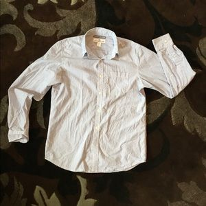Old Navy Classic Fit Striped Button Down